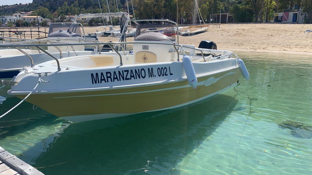 Noleggio imbarcazioni a San Vito Lo Capo